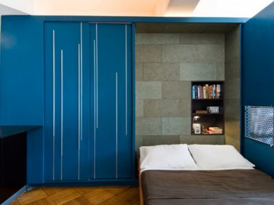 Small-Apartment-Bed-Integrated-to-Wardorbe-View