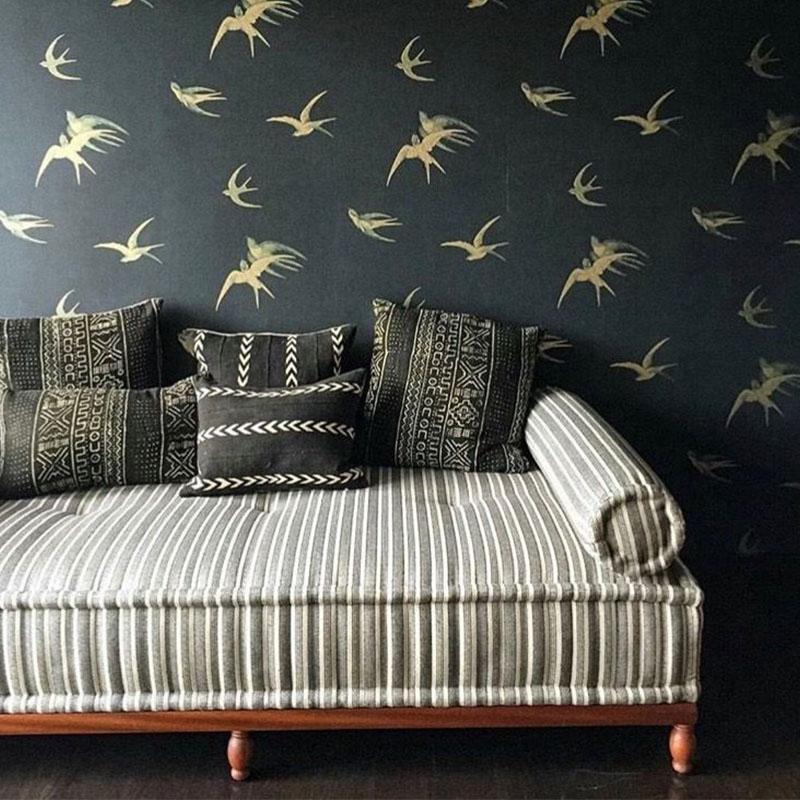 Sanderson Swallows design tapéta