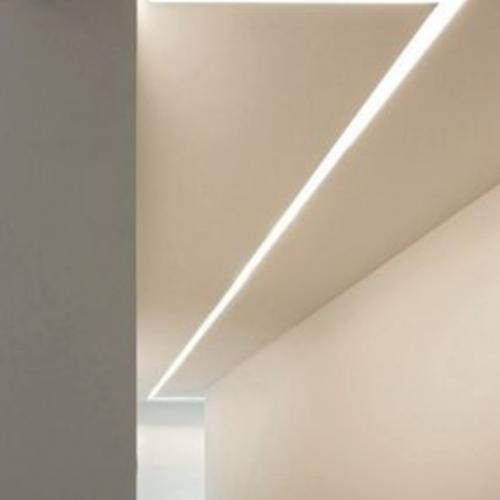 LEDcsik-mennyezetbe sullyesztett-modern