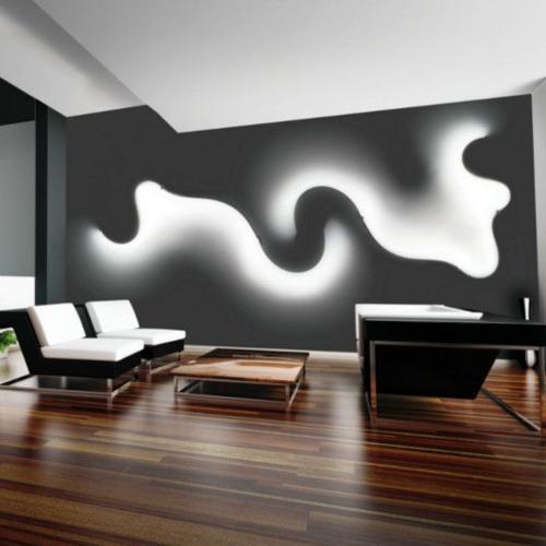 falfeny-modern lampa-led csik-izgalmas vilagitas